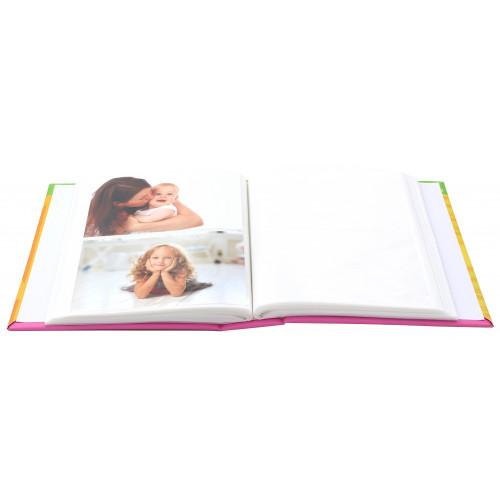 Album photo Bébé Girafe 200 pochettes 10X15 - ouvert