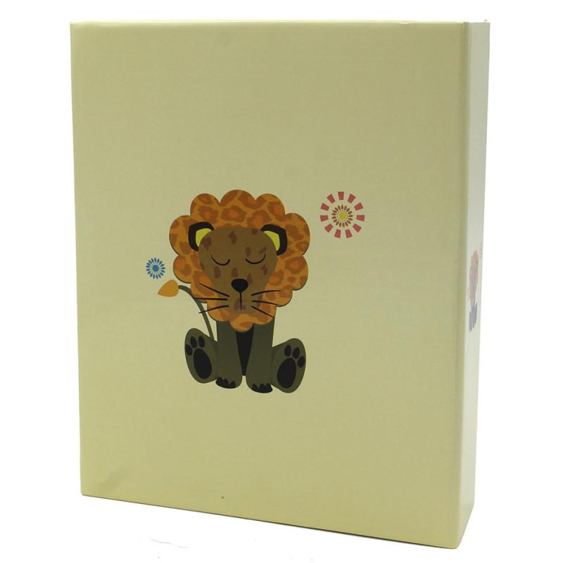 Album photo Bébé Lion 200 pochettes 10X15 - dos