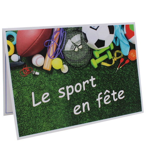 Cartonnage photo scolaire - Groupe 20x30 - Sport en Fête