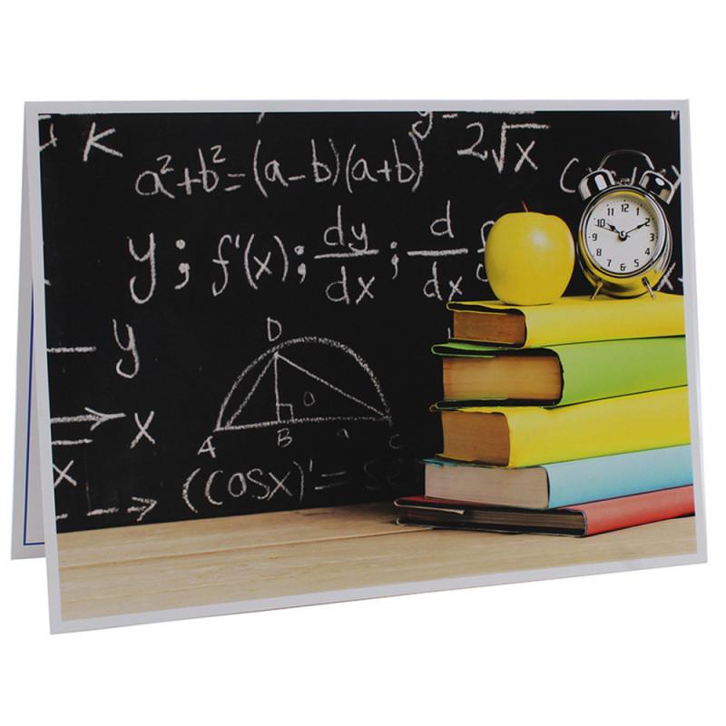 Cartonnage photo scolaire - Groupe 20x30 - Vive les Maths!