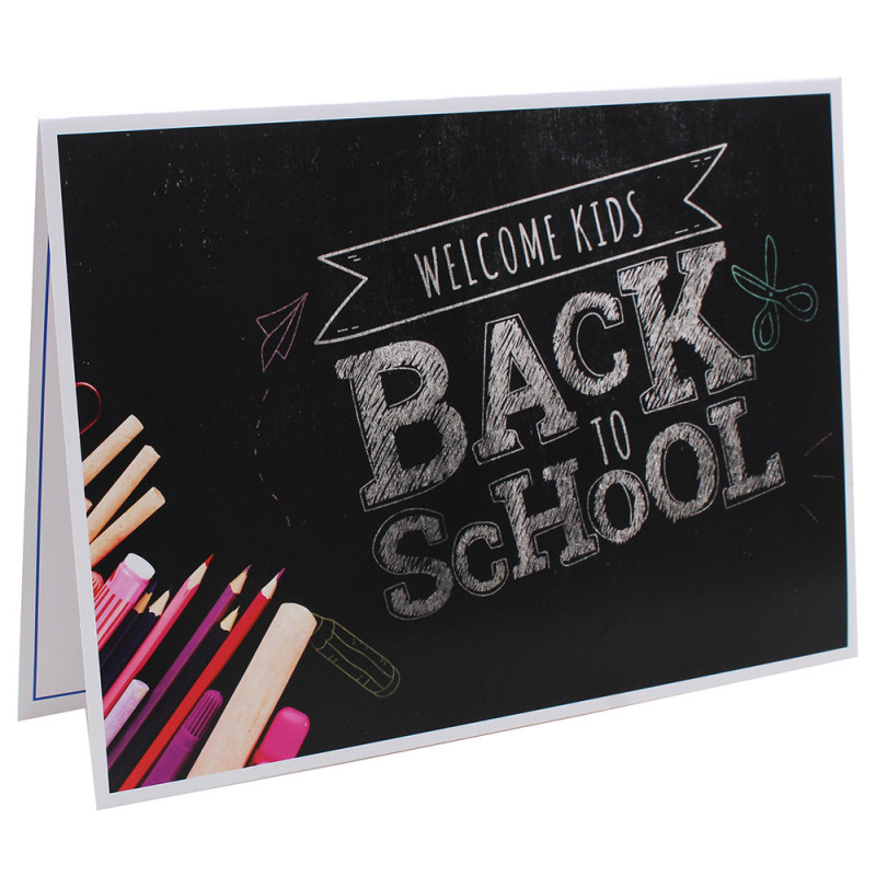 Cartonnage photo scolaire - Groupe 20x30 - Back to school