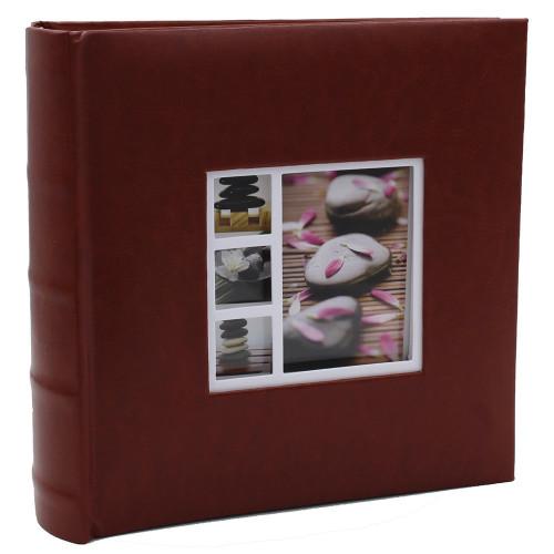 ALBUM PHOTO TORIN 300 POCHETTES 10x15 BRUN