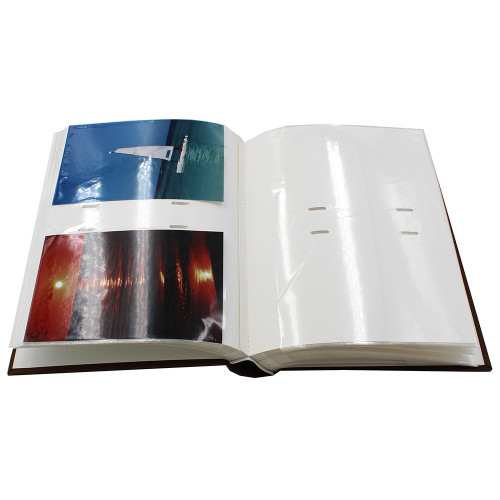 ALBUM PHOTO OKNO 200 POCHETTES 10X15 OUVERT