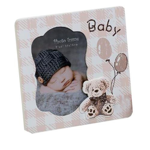 Cadre photo enfant Baby&Toys 10x15 sépia