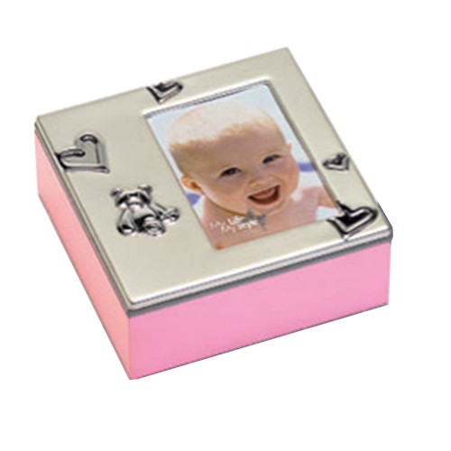 Box photo enfant Baby Box 12,5X12,5 - Fille
