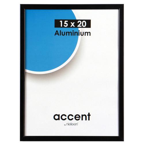 Cadre photo Métal Aluminium Noir pour une photo 15x20