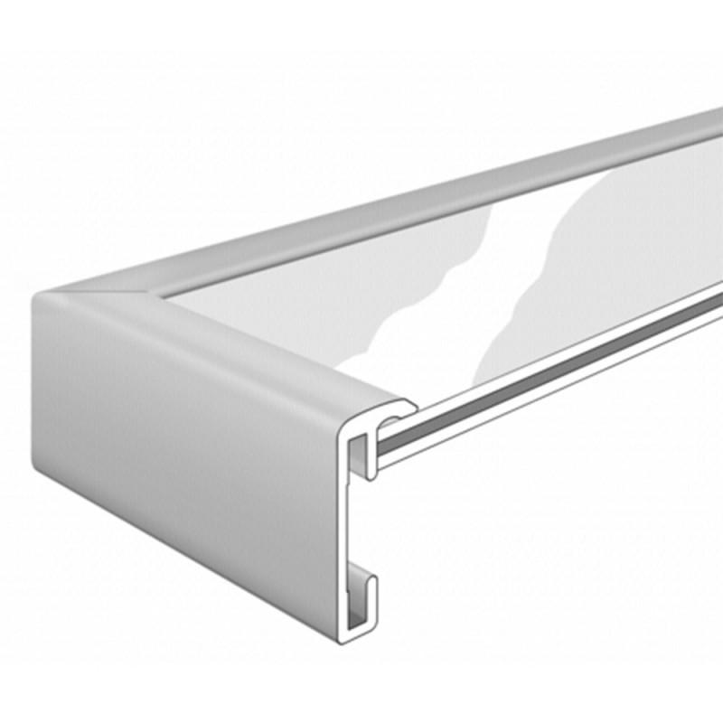 Cadre photo Métal Aluminium Doré pour une photo 15x20 - moulure