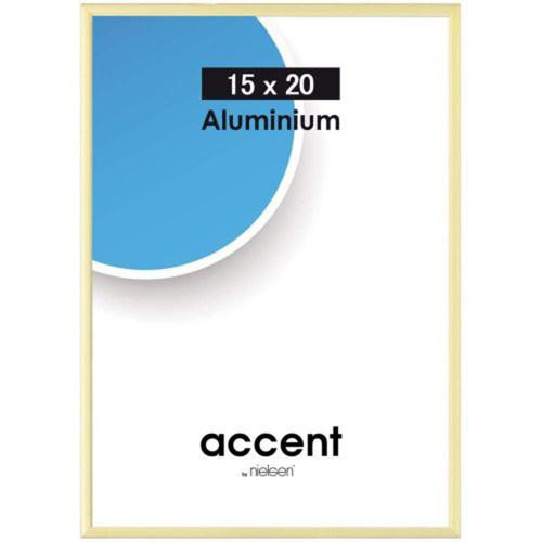 Cadre photo Métal Aluminium Doré pour une photo 15x20