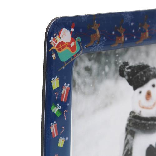 Cadre photo magnétique Noël 10x15 horizontal