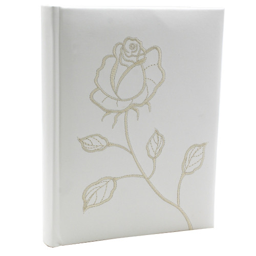 Album photo Roses 4Mix 100 pochettes 15x21 Blanc