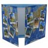 Cartonnage photo triptyque 13x18+18x24+pochette - Les 7 Merveilles