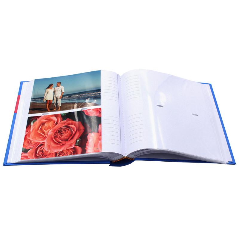 LOT 3 ALBUMS PHOTO COULEUR 200 POCHETTES 10x15 - OUVERT