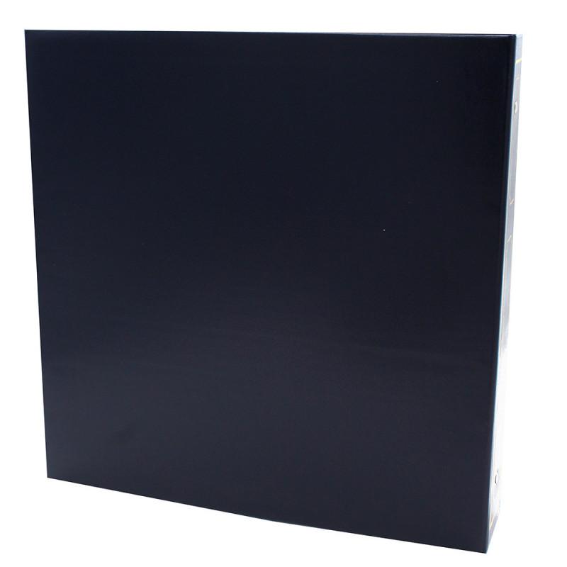 LOT-2-CLASSEURS-OCTO-400-POCHETTES-10x15-DOS-BLEU