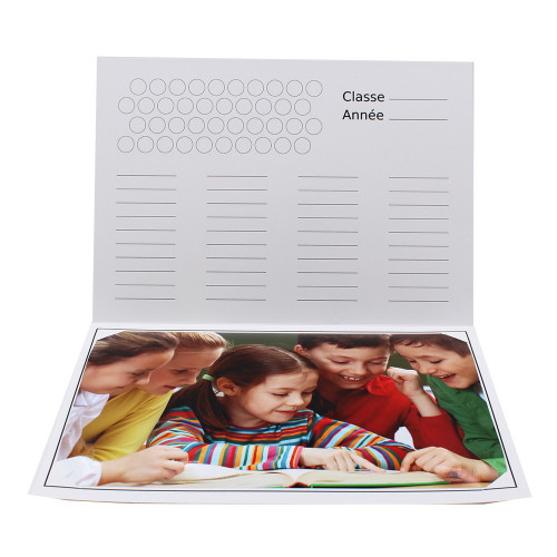Cartonnage photo scolaire - Groupe 20x30 - Back to school 2