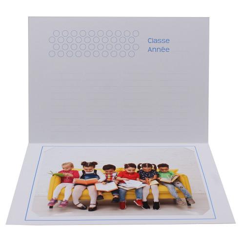 Cartonnage photo scolaire - Groupe 18x24 - La Jungle