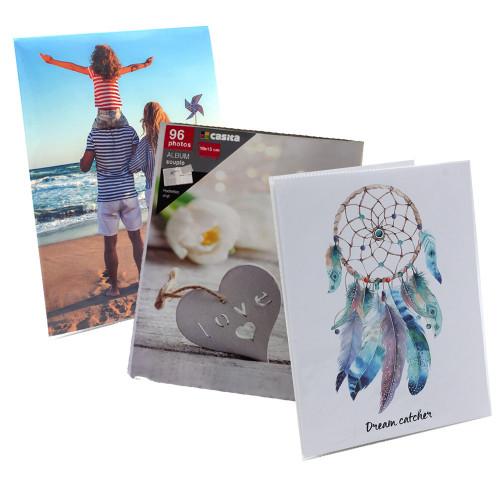 Lot de 3 albums photo Trio 96 pochettes 10x15