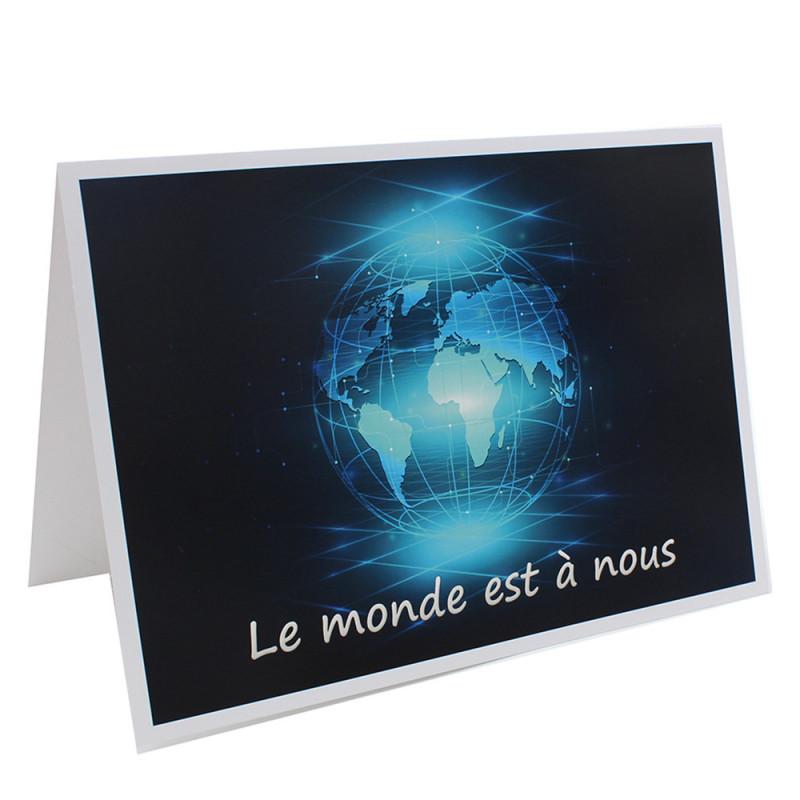 Cartonnage photo scolaire - Groupe 20x30 - Le Monde est à nous