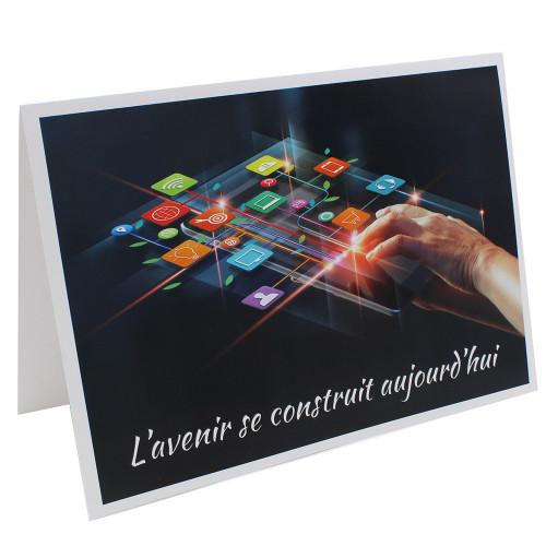 Cartonnage photo scolaire - Groupe 20x30 - L'avenir se construit aujourd'hui