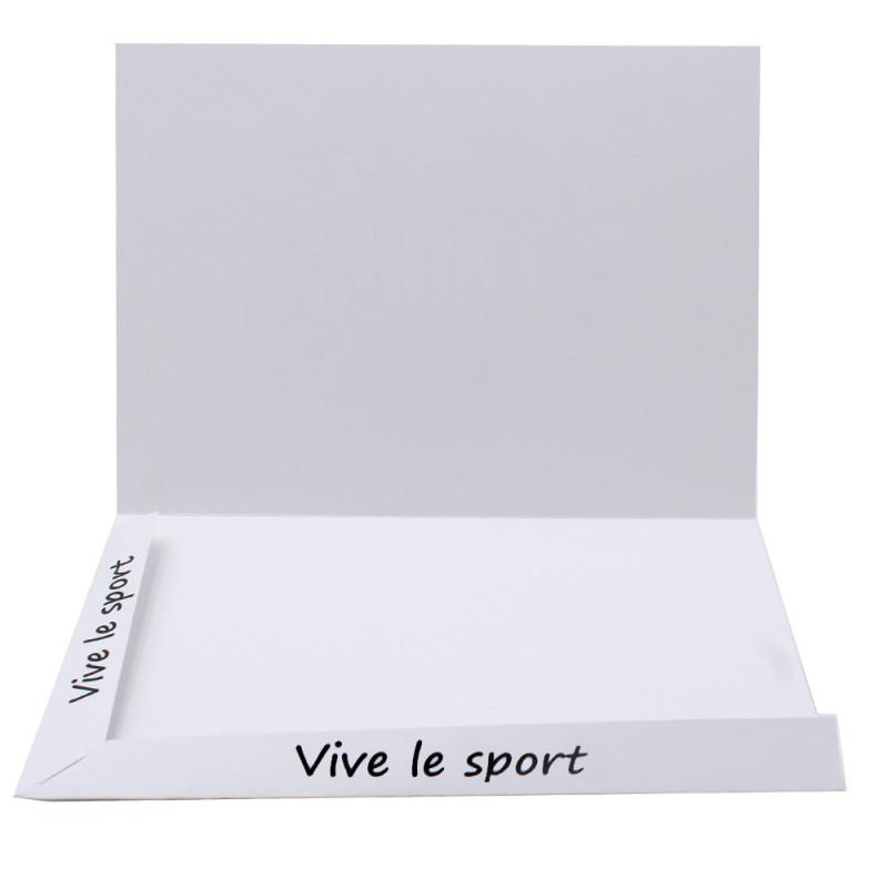 Cartonnage photo Combi A4 Vive le Sport - avec photo