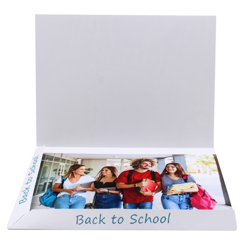 Cartonnage photo Combi A4 Back to school 2 - avec photo