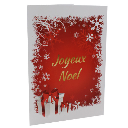Cartonnage photo de Noël - Groupe 20x30 - Joyeux Noël V