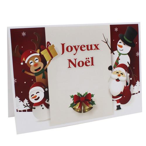 Cartonnage photo scolaire - Groupe 18x24 - Joyeux Noël RG