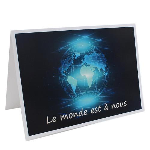 Cartonnage photo scolaire - Groupe 18x24 - Le Monde est à nous