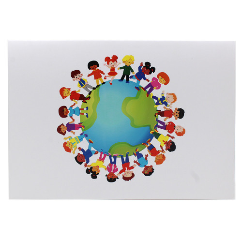 Cartonnage photo scolaire - Groupe 18x24 - Terre 2