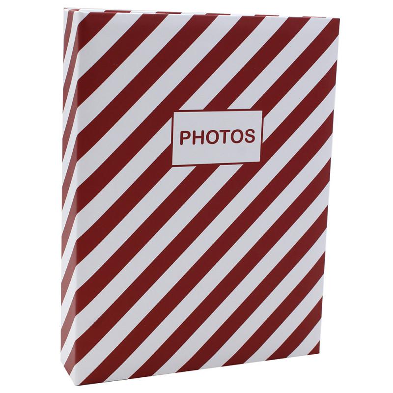 Album photo Mstream 200 pochettes 10X15 - Rouge