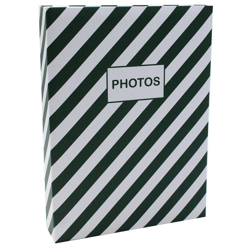 Album photo Mstream 200 pochettes 10X15 - Vert