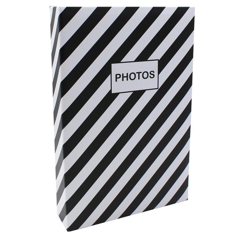 Album photo Mstream 402 pochettes 10X15 Noir