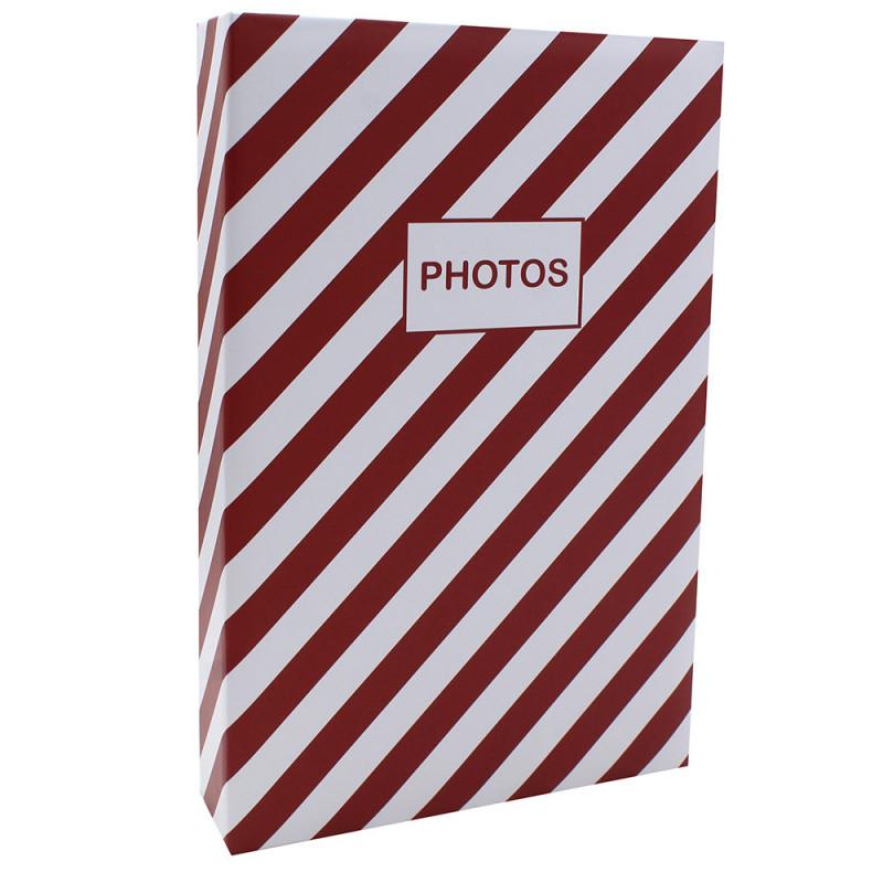 Album photo Mstream 402 pochettes 10X15 Rouge