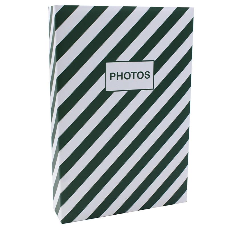 Album photo Mstream 402 pochettes 10X15 Vert