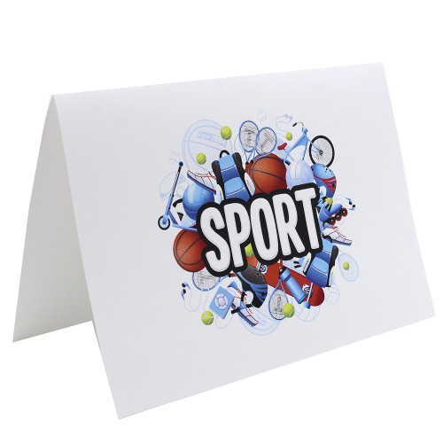Cartonnage photo scolaire - Groupe A4 - Sport