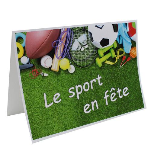 Cartonnage photo scolaire - Groupe A4 - Le sport en fete