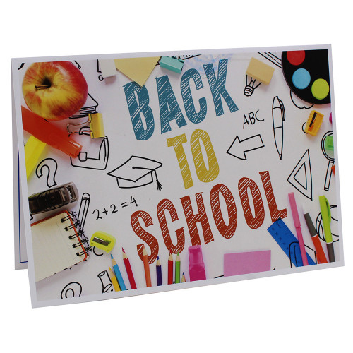 Cartonnage photo scolaire - Groupe A4 - Back to school 2