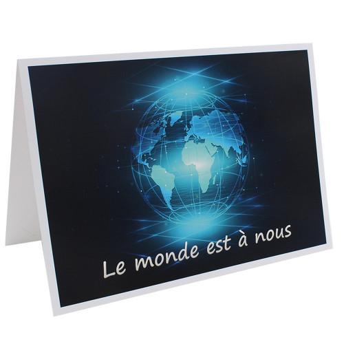 Cartonnage photo scolaire - Groupe A4 - Le Monde est à nous