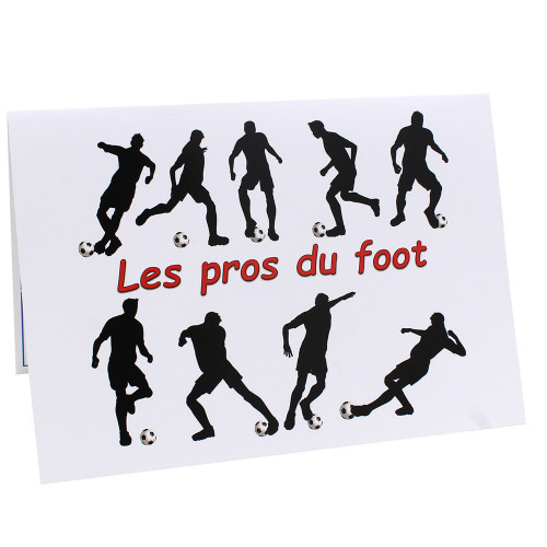 Cartonnage photo scolaire - Groupe A4 - les Pros du foot