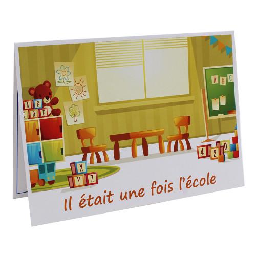 Cartonnage photo scolaire - Groupe A4 - Il était une fois