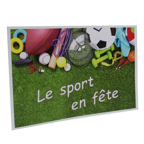 Cartonnage photo scolaire - Groupe 20x30-18x25 - Sport en Fête