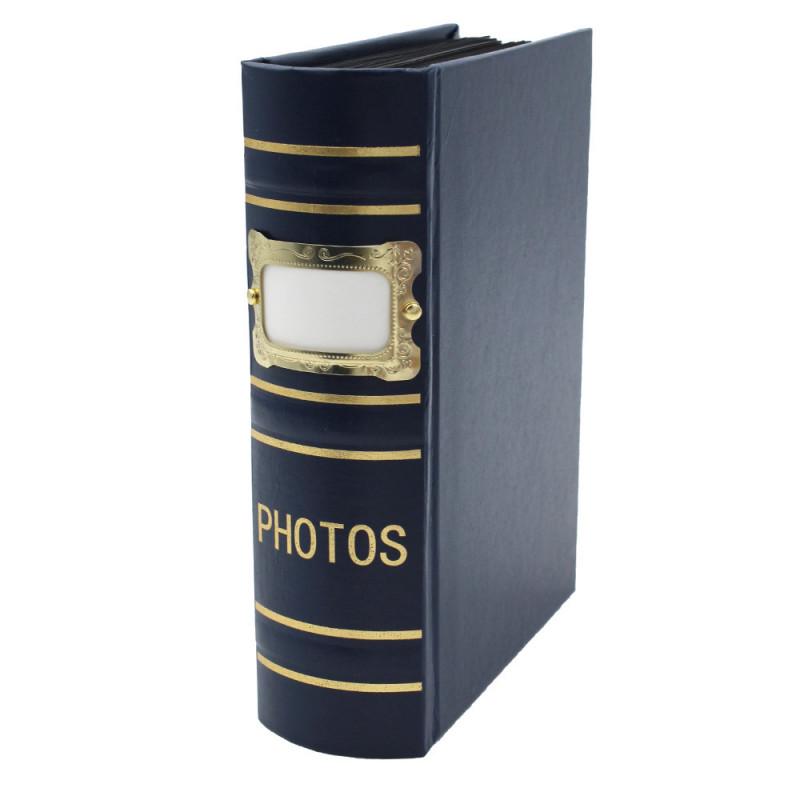 Coffret de 3 albums Fashion 100 pochettes 10x15 - Album bleu