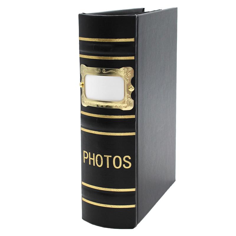 Coffret de 3 albums Fashion 100 pochettes 10x15 - Album noir