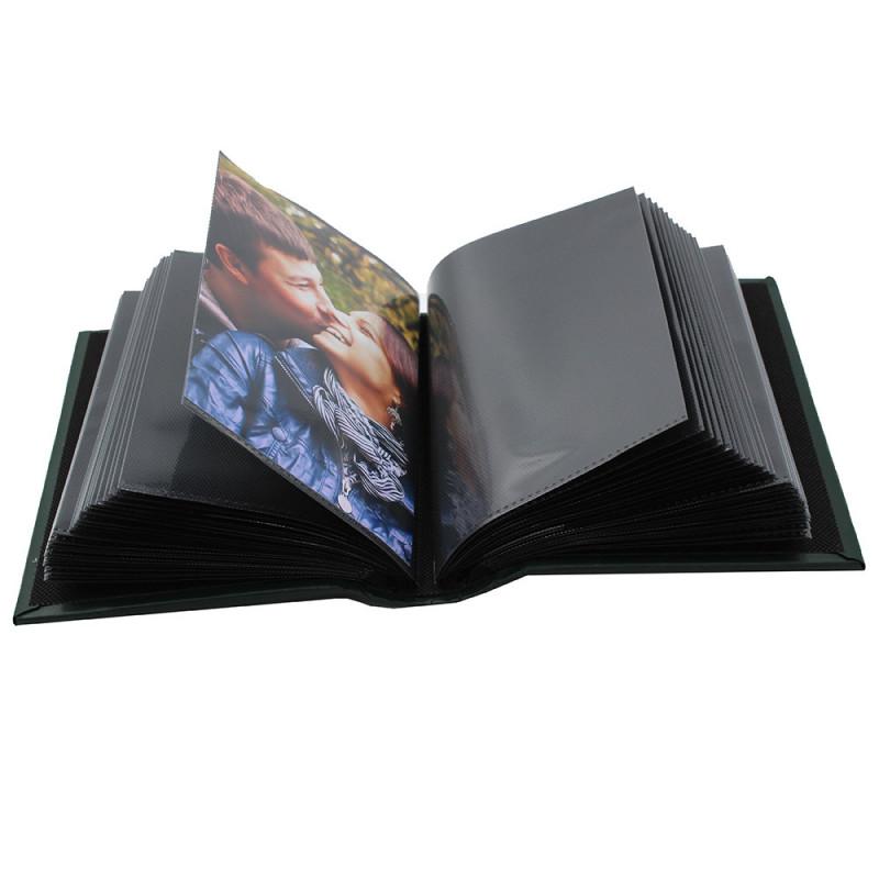 Coffret de 3 albums Fashion 100 pochettes 10x15 - pochettes noires