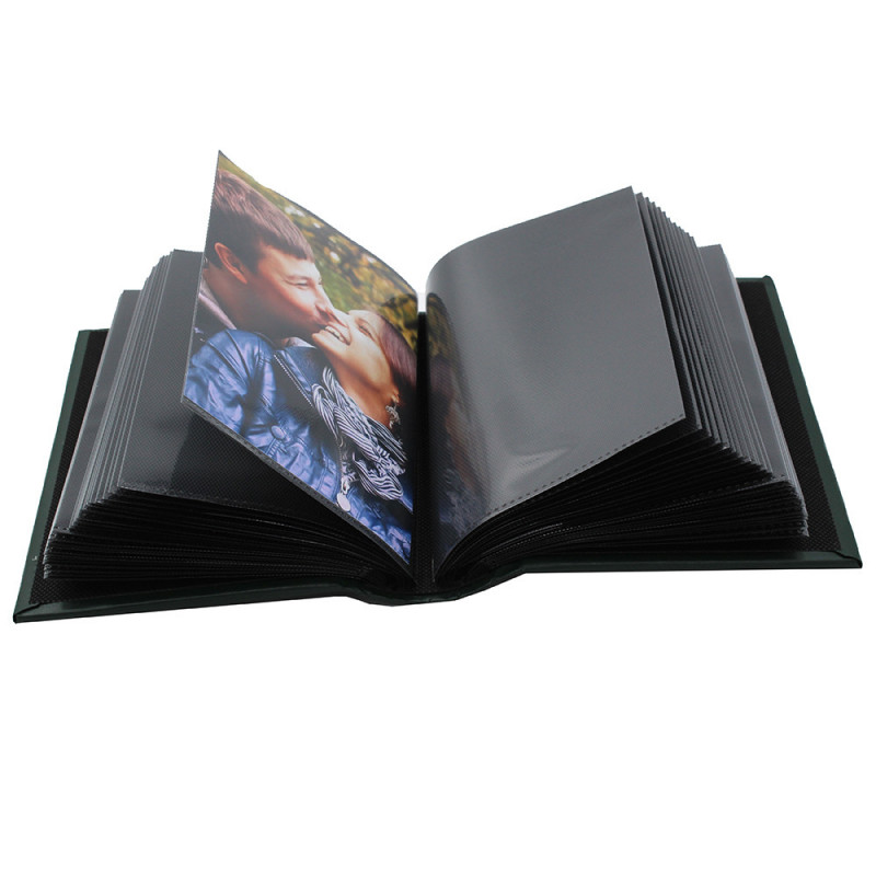 Coffret de 3 albums Fashion 100 pochettes 10x15 - pochette 10x15 noire