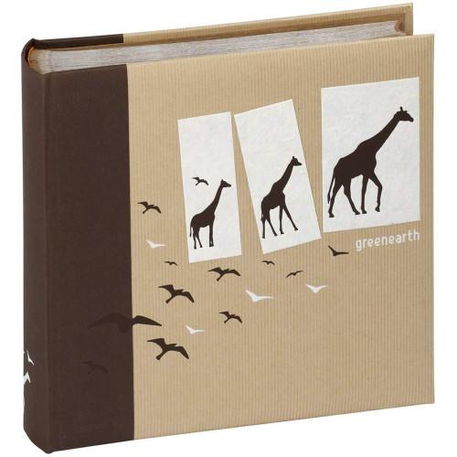 Album Greenearth traditionnel brun