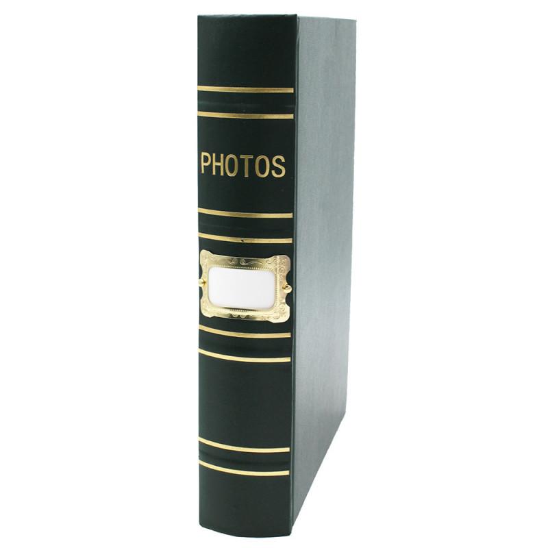 Coffret de 2 albums Fashion 200 pochettes 10x15 - album vert