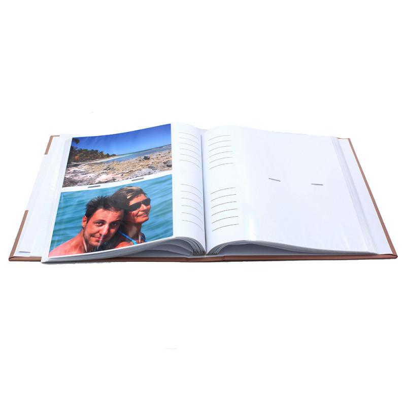 lot de 3 albums pochettes 10x15 Compliments 200 photos - ouvert