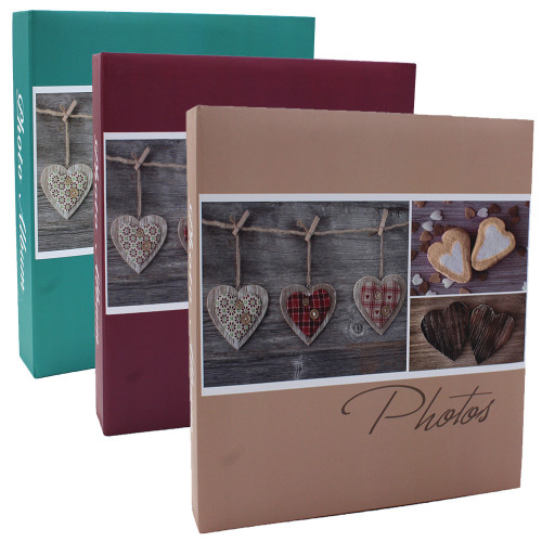 lot de 3 albums pochettes 10x15 Compliments 200 photos