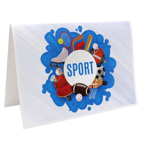 Cartonnage photo scolaire - Groupe 20x30 - Sport 2