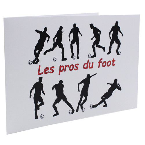Cartonnage photo scolaire - Groupe 20x30 -18x25 - Les Pros du Foot